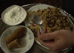 Cuisine: Majadara, Stuffed Zucchini, and Yoghurt